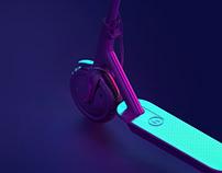 FUTURE MOBILITY UI – E-Scooter, Flight Taxi, Hyperloop