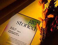 Get Stoned — Jewellery Press Day mini identity