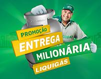Promoção Entrega Milionária Liquigás