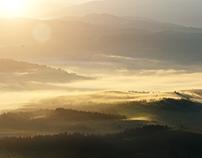 Carpathians  fog