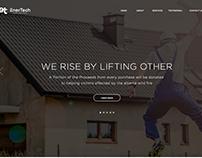 EnerTech Landing Page