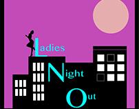 Ladies Night Out Organization Logo
