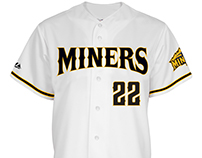 Sussex County Miners Home Jersey Design