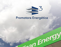 Identidad corporativa Promotora Energética E3