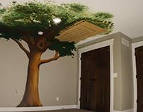 Tree House Mural
