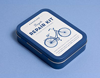 Bicycle Repair Kit Packaging
