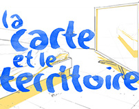 La carte et le territoire - Set Design