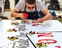 Beefeater Edible Graffiti Session