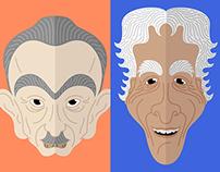 Caricaturas | Escritores Brasileiros