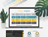 Business Roadmap Presentation Template | Free Download
