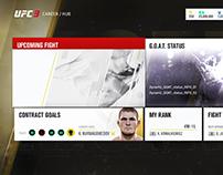 UI UX for EA   UFC3