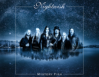 Nightwish album front cover design