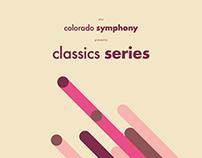 Colorado Symphony Mailer