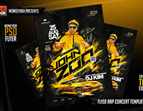 Flyer Rap Concert Template