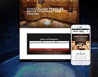 Sauna and decks redesign