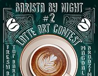 Poster Barista by Night #2