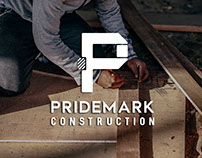 Pridemark Construction Identity Redesign