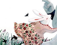 Illustration for Children Book Snail