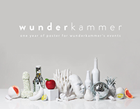 Wunderkammer first season // Posters Design