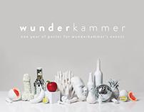 Wunderkammer first season // Posters Design