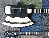 Gene Simmons Axe Bass