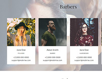 AMP HTML Beauty Salon Page Template
