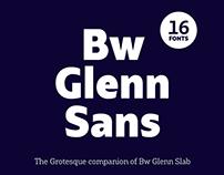 Bw Glenn Sans — Free demo font