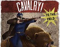 Cavalry Propaganda Poster