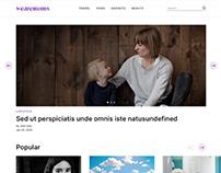 Blog website for women