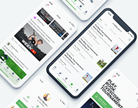 WeGolf - Golf App Solution