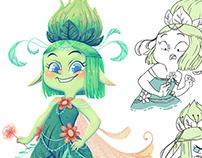 PERI character design