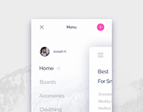 Daily UI 001 - App Menu