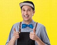 Hellmann's - Campagne promotionnelle - Bob le chef !