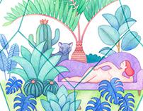 Little jungle terrarium