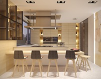 Kitchen. Design+3d visualization 2016 г.