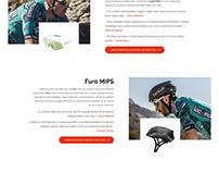 Bollé - webdesign