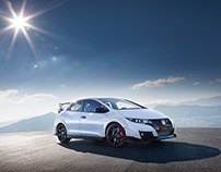 Honda Civic Type R international PR campaign