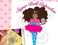 Sugar Doll Cupcakes Mini Branding Identity Pack