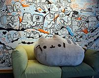 Facebook Office Mural
