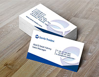 Savio Tradex Busines Card