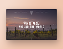 Wine Heritage Website