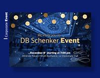 Customer event invitation