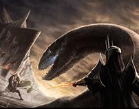 Witch King vs Eowyn