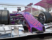 F1 Baku city circuit