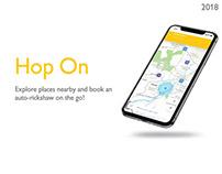 Hop On — UI/UX Design