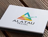 Alatau Travel Logo
