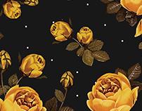 Yellow Roses Pattern