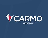 Carmo Advocacia - Identidade visual