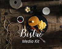 Projeto Universitário - Media Kit Revista Gastronomica