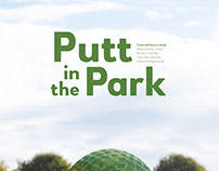 POSTER / Putt in the Park